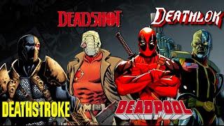 Video Deadpool, Deadshot, Deathstroke, Deathlok - Which is Which? MP3, 3GP, MP4, WEBM, AVI, FLV Oktober 2018
