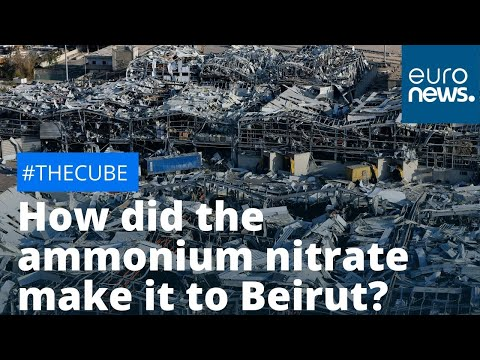 How did the ammonium nitrate make it to Beirut? | #TheCube