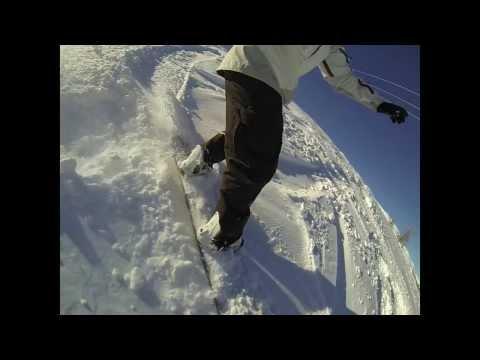 SNOWBOARD ALPES TRAILER