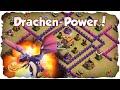 CLASH OF CLANS - RH 7 Anti-Drachen Base Taktik: Clan Krieg Angriffe und Verteidigung! | xHeaven