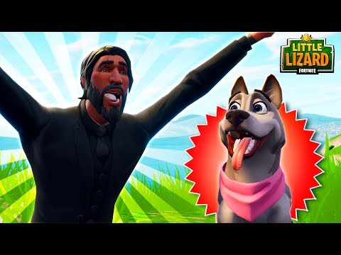 JOHN WICK'S PUPPY SPEAKS?! - *NEW PETS SEASON 6* Fortnite Short Films