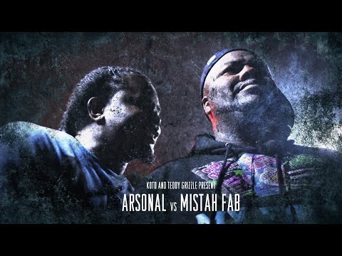 KOTD – Rap Battle – Arsonal vs Mistah F.A.B. (MOST DISRESPECTFUL BATTLE EVER)
