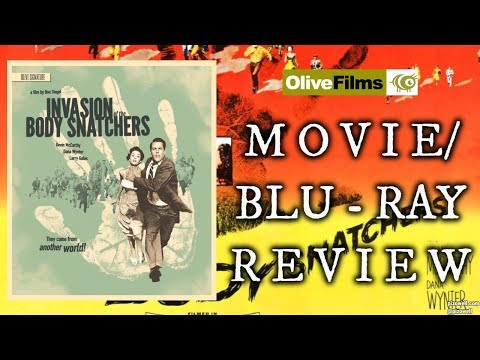 INVASION OF THE BODY SNATCHERS (1956) - Movie/Blu-ray Review (Olive Signature)