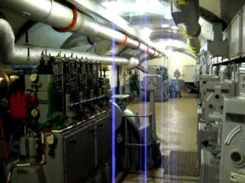 Maginot Line Underground Power Station at Schoenenbourg Fort.