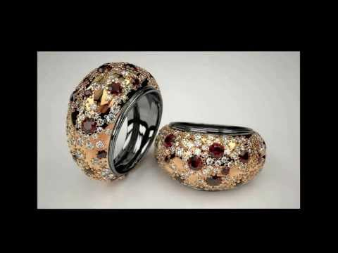 3D jewelry   Italian design   jewels with diamonds & other stones   demo reel 2011