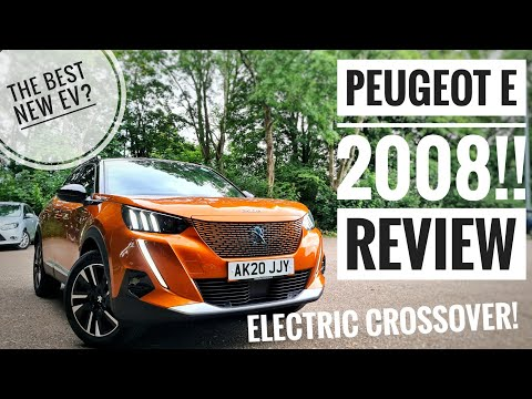 2020 Peugeot e2008 Review! - Peugeots *NEW ELECTRIC CROSSOVER*