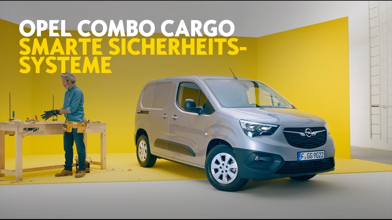 Opel Combo Cargo: Smarte Sicherheitssysteme