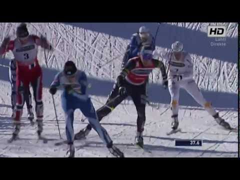 lahti - Woman's Sprint Finale Lahti 2013 - MARIT BJØRGEN vs KIKKAN RANDALL Please watch in HD(720) quality for best viewing experience Sports-HD Production offers gr...