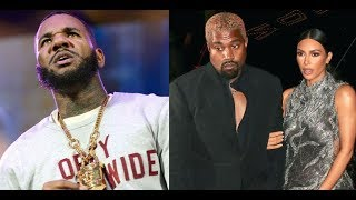 "The Game Disrespects Kanye West & His Wife Kim Kardashian In New Song, ""I Grabbed Her....."""
