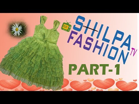 Video Frill Frock Cutting And Stitching |umbrella frock |Simple Frock | Baby Frock  PART-1 download in MP3, 3GP, MP4, WEBM, AVI, FLV January 2017