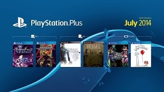 PS4 - PlayStation Plus - Free Games Trailer (July 2014)