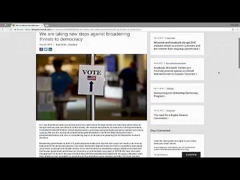 Microsoft: Ρώσοι χάκερ ξαναχτυπούν αμερικανικές πολιτικές οργανώσεις…