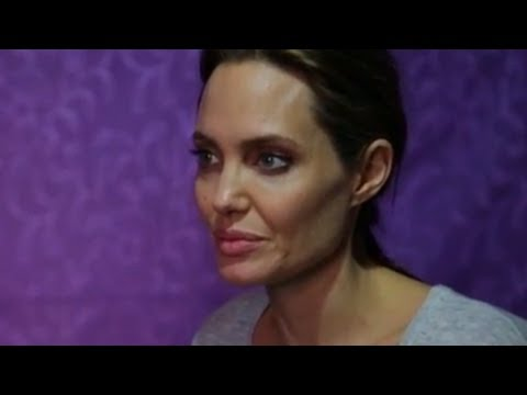 meets - UNHCR Special Envoy Angelina Jolie visited Lebanon's Bekaa Valley, to meet 11 year old Hala and her five siblings who arrived as orphans from Syria's war. Af...