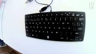 Primux K100 teclado slim USB para PC