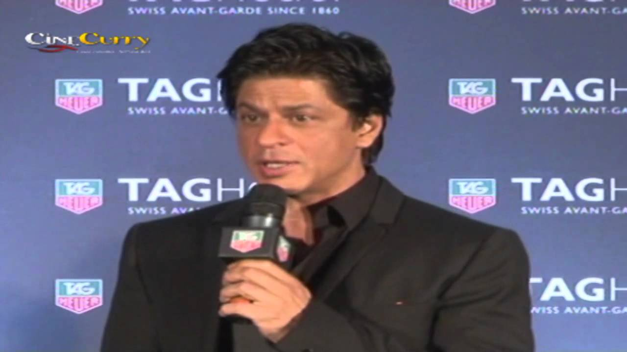 Shah Rukh Khan Enters 10th Years as Brand Ambassador For Tag Heuer