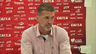 Veja o que o técnico do Vitoria falou sobre a vitoria em cima do Corinthians, que não tinha perdido ainda nesse Brasileirão.