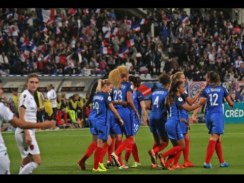 Féminines, Qualifications Euro 2017 : France - Albanie 2016 (6-0), le résumé