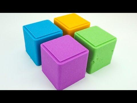 Сюрпризы из кинетического песка и игрушки из мультиков - DomaVideo.Ru