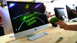 Leap Motion: Hands On At SXSW - YouTube