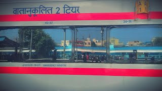 Inside ALL NEW BEZEL-LESS SECOND AC SILVER LHB COACH! || FIRST ON YOUTUBE! || Indian Railways!