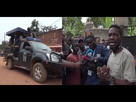 BOBI WINE APAZA SAUTI UMOJA WA MATAIFA KUPINGA MATOKEO YA UCHAGUZI MKUU UGANDA.
