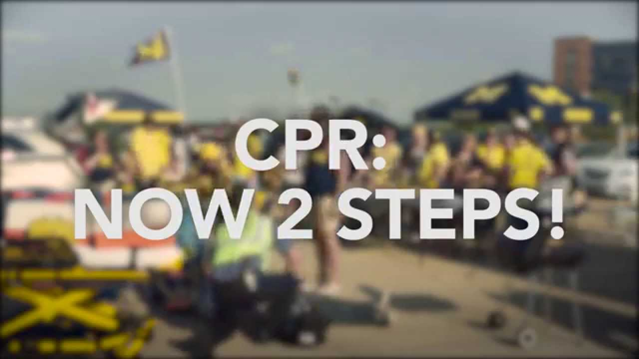Learn To Save A Life With Hands Only Cpr University Of Michigan
