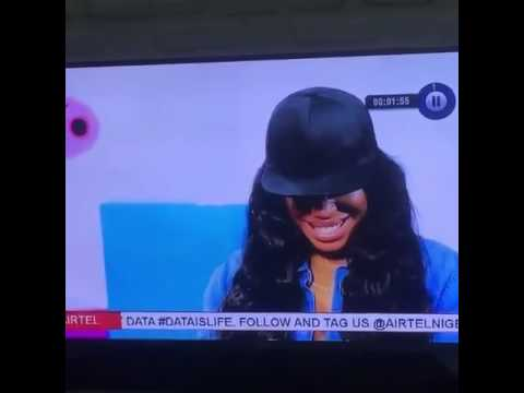 Ex #BBN Housemate, Ese Eriata don't know the meaning of B.SC in an interview with International TV