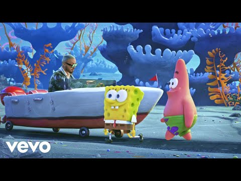 "Tainy, J. Balvin - Agua (Music From ""Sponge On The Run"" Movie)"