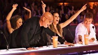 Video ALL 5 INCREDIBLE GOLDEN BUZZER America's Got Talent 2018 MP3, 3GP, MP4, WEBM, AVI, FLV Juli 2018