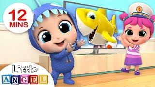 Video Baby Shark Dance, Doo Doo!   Baby Shark Song by Little Angel MP3, 3GP, MP4, WEBM, AVI, FLV Juni 2019