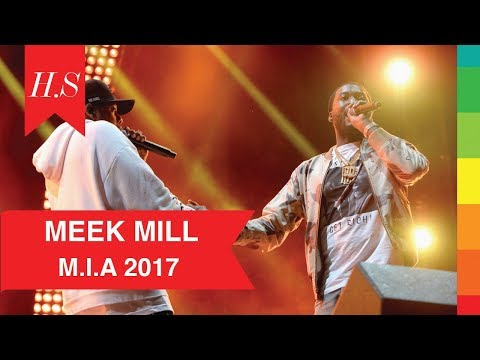 Jay Z Brings Out Meek Mill at Made in America 2017