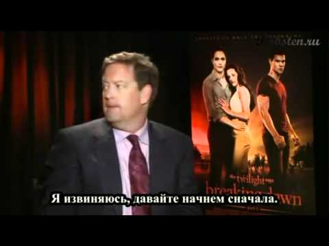 KTLA: реакция Роберта на необычное интервью (русс.суб)