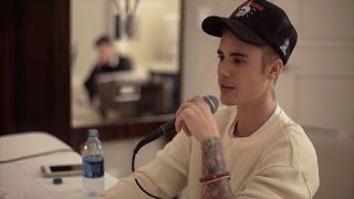 Justin Bieber snakket ut om skandale-konserten i Oslo da han ble intervjuet av «The Bert Show» tidligere i år.