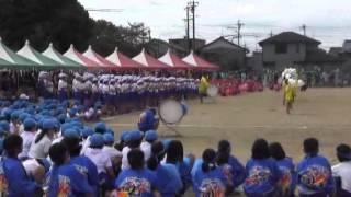 羽黒小学校運動会6午後1・演奏と応援合戦