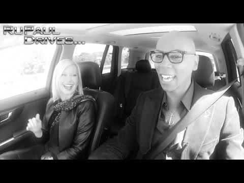 RuPaul Drives… Olivia Newton-John