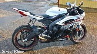 10. Те�т-драйв мотоцикла Yamaha YZF-R6