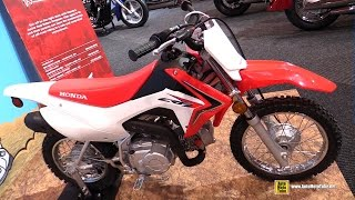 5. 2015 Honda CRF 110F - Walkaround - 2015 Toronto Motorcycle Show