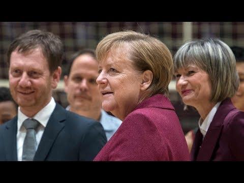 Merkel sucht in Chemnitz Bürgerdialog – Großdemo angekündigt