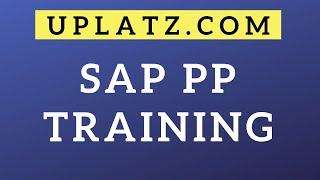 Overview | SAP PP | SAP Production Planning Module Certification Training and Online Course Tutorial