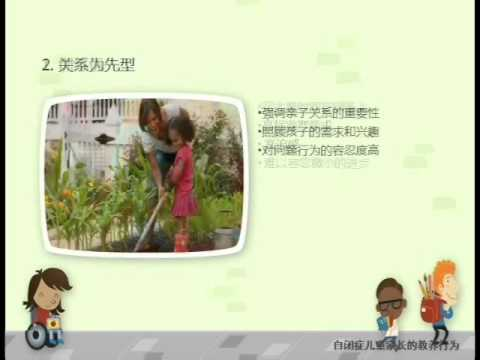 Parenting Styles in Families with Children with Autism Spectrum Disorders_Chinese Version