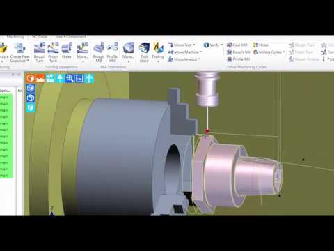 probe support for Mill/Turn | Edgecam 2017R1 (видео)