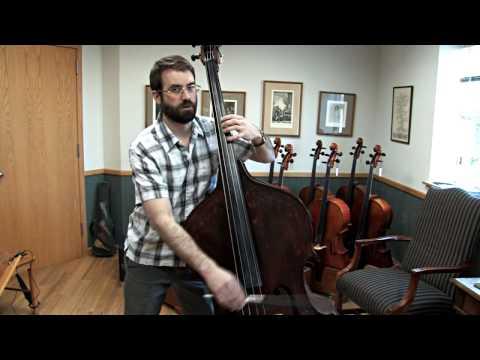Tuning a Bass with Harmonics