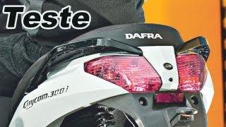 3. Teste: Dafra - Sym Citycom 300i