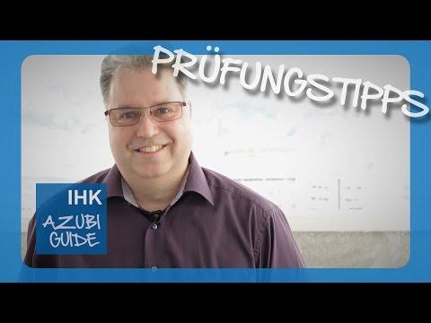 IHK-Prüfer gibt Tipps für die mündliche Prüfung