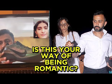 Couple Sonam Kapoor Anand Ahuja Get Romantic Over