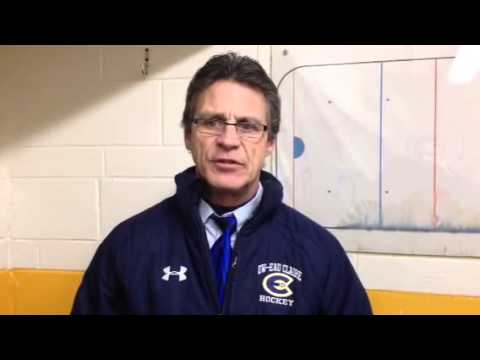 Women's Hockey:  Coach Collins Recaps 2-1 Setback at St. Olaf