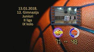 kk flash kk sava 71 48 (juniori, 13 01 2018 ) košarkaški klub sava