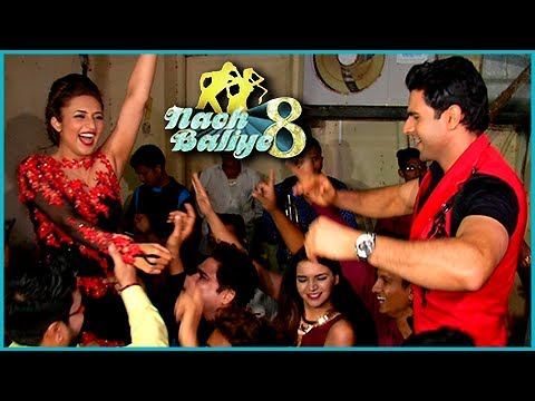 Divyanka Tripathi Vivek And Dahiya Dance And Celeb