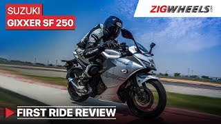 4. Suzuki Gixxer SF 250 2019 Review | Price in India, Performance, Features and more | ZigWheels.com