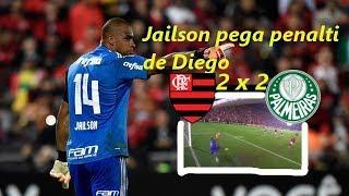 No jogo Flamengo 2 x 2 Palmeiras, o goleiro Jaílson, barrou Fernando Prass, que ficou no banco de reservas, e pegou um batido por Diego do FlamengoFlamengo 2 x 2 PalmeirasFlamengo 2 x 2 PalmeirasFlamengo 2 x 2 PalmeirasFlamengo 2 x 2 Palmeiras